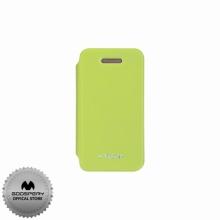 Луксозен Кожен калъф за Iphone 4/4S ЗЕЛЕН ТИП ПАПКА FLIP COVER