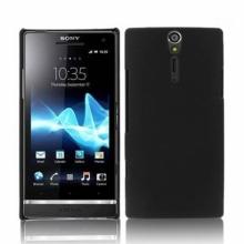Пластмасов калъф за Sony Xperia L - S36h - C210x  черен