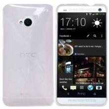 Пластмасов калъф за HTC-ONE М7 БЯЛ