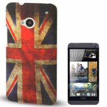 Пластмасов калъф за HTC-ONE М7 ЗНАМЕ НА UK