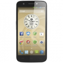 "Смартфон PRESTIGIO MultiPhone PSP5508 DUO METAL - 5"", 2 СИМ, осемядрен, GPS"