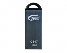 Флаш памет 8GB, сива, водоустойчива