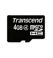 Карта памет Transcend 4GB microSD class 4