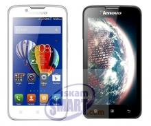 Смартфон Lenovo A328 - 4.5 инча, Четириядрен 1,3 GHz, 5MP, Android 4.4
