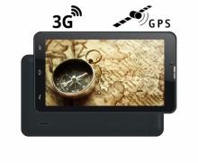 4в1 Таблет с 3G и GPS навигация с Android Turbo-X Calltab 7 инча, SIM, 16GB, DVR