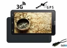 5в1 мощен 3G таблет с GPS Turbo-X Calltab 7 инча, SIM, 16GB, DVR, ТЕЛЕВИЗИЯ