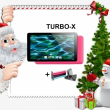 Промоция! Розов таблет Turbo - X Rubik Pink, 7 инча, 8GB + Калъф подарък