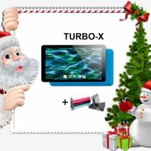 Промоция! Таблет TURBO-X Rubik Blue, 7 инча, 8GB + Калъф подарък
