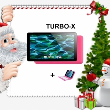 Промоция! Таблет розов Turbo - X Rubik Pink - 7 инча, 8GB + Калъф с клавиатура подарък