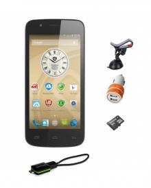 Четириядрена GPS навигация - Смартфон PRESTIGIO MultiPhone 5 инча, 2 СИМ, кола, камион, телевизия
