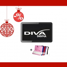 Четириядрен таблет DIVA Premium 9 инча + КЛАВИАТУРА БОНУС